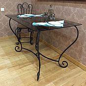 Для дома и интерьера handmade. Livemaster - original item Table wrought iron dining. Handmade.