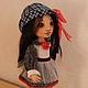 Коллекционные куклы ручной работы. Заказать Майя. Текстильная игровая кукла. Талалайко Анна. Ярмарка Мастеров. Авторская кукла