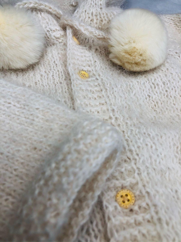 Детская кофта,джемпер из сури альпака, Кардиган, Санкт-Петербург,  Фото №1