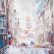 Картины и панно handmade. Livemaster - original item St. Petersburg. Watercolor painting. Handmade.