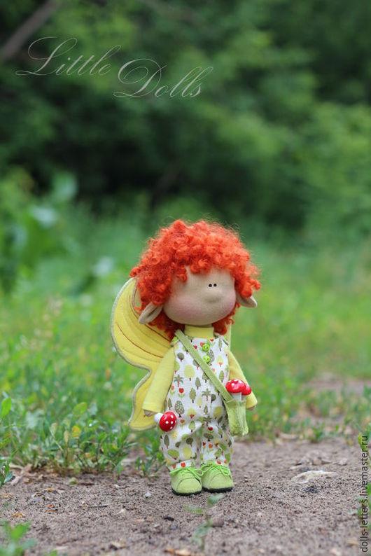 Человечки ручной работы. Ярмарка Мастеров - ручная работа. Купить Текстильная куколка!. Handmade. Комбинированный, интерьерная игрушка, трикотаж хлопок