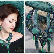 Украшения handmade. Livemaster - original item necklace+earrings