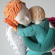 """Куклы и игрушки ручной работы. Ярмарка Мастеров - ручная работа Ангел """"Мама в зеленом"""". Handmade."""
