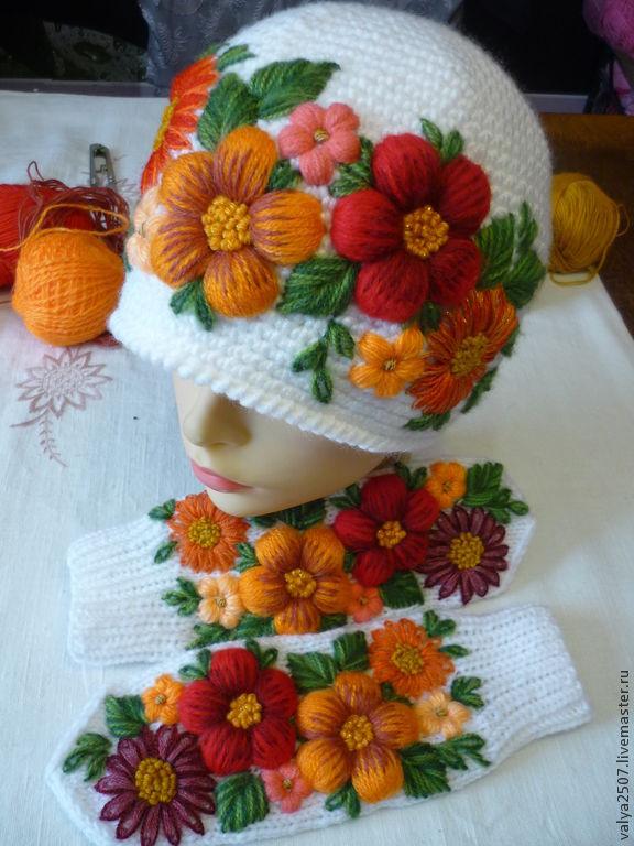 Hats: set ' Orange Fairy Tale', Caps, Gribanovsky,  Фото №1