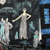 Для дома и интерьера ручной работы. Ярмарка Мастеров - ручная работа Покрывало  Ночь нежна. Handmade.