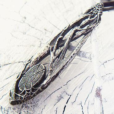 Украшения ручной работы. Ярмарка Мастеров - ручная работа Кулон из серебра Лес. Handmade.