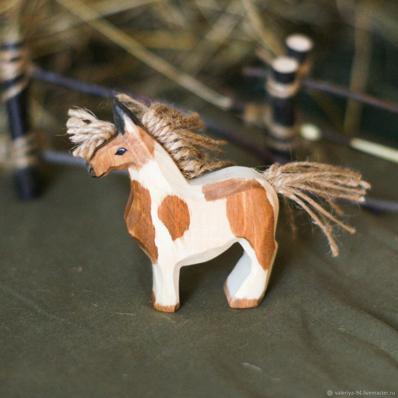 Добрый пони, Вальдорфские куклы и звери, Суоярви,  Фото №1