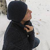 Одежда ручной работы. Ярмарка Мастеров - ручная работа Свитер + шапочка. Handmade.