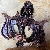 Украшения handmade. Livemaster - original item Dragon brooch