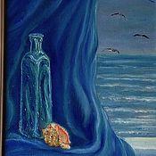 Картины и панно ручной работы. Ярмарка Мастеров - ручная работа Картина Ракушка на окне.. Handmade.