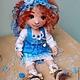 Коллекционные куклы ручной работы. Алиса. Текстильная игровая кукла... Анна Талалайко. Ярмарка Мастеров. Коллекционная кукла