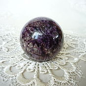 Фен-шуй и эзотерика handmade. Livemaster - original item Ball from charoite. Handmade.