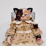 """Куклы и игрушки ручной работы. Ярмарка Мастеров - ручная работа Валяная кошечка """"Симочка"""". Handmade."""