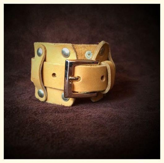 Браслеты ручной работы. Ярмарка Мастеров - ручная работа. Купить Браслет yellow gold one. Handmade. Браслет, желтый