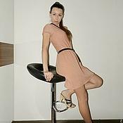 """Одежда ручной работы. Ярмарка Мастеров - ручная работа женское вязаное платье """"Нежность"""". Handmade."""
