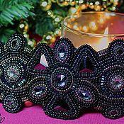 """Аксессуары ручной работы. Ярмарка Мастеров - ручная работа Пояс-нашивка """"Black Diamond"""". Handmade."""