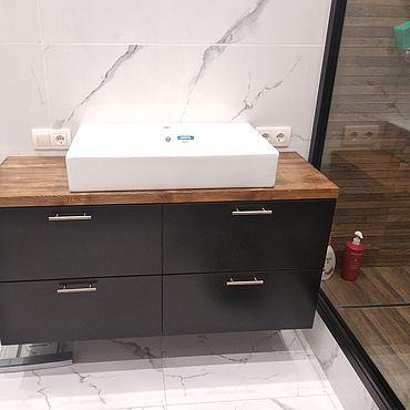 Мебель ручной работы. Ярмарка Мастеров - ручная работа Тумба для ванной. Handmade.