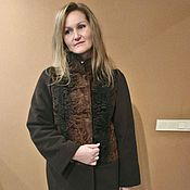 Одежда handmade. Livemaster - original item Alteration, cut, Astrakhan coat. Handmade.