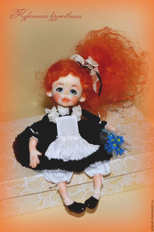 Коллекционные куклы ручной работы. Ярмарка Мастеров - ручная работа. Купить Первоклассница 1 сентября. Handmade. Белый, первоклашка, ученица