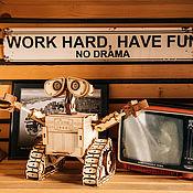 Куклы и игрушки handmade. Livemaster - original item Robot VALLEY. designer wood.. Handmade.