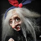 Куклы и игрушки ручной работы. Ярмарка Мастеров - ручная работа В 145- бабка ягодка опять. Handmade.