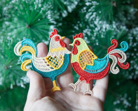 Новый год 2017 ручной работы. Ярмарка Мастеров - ручная работа. Купить Петух пёстрый символ 2017 года. Handmade. петух