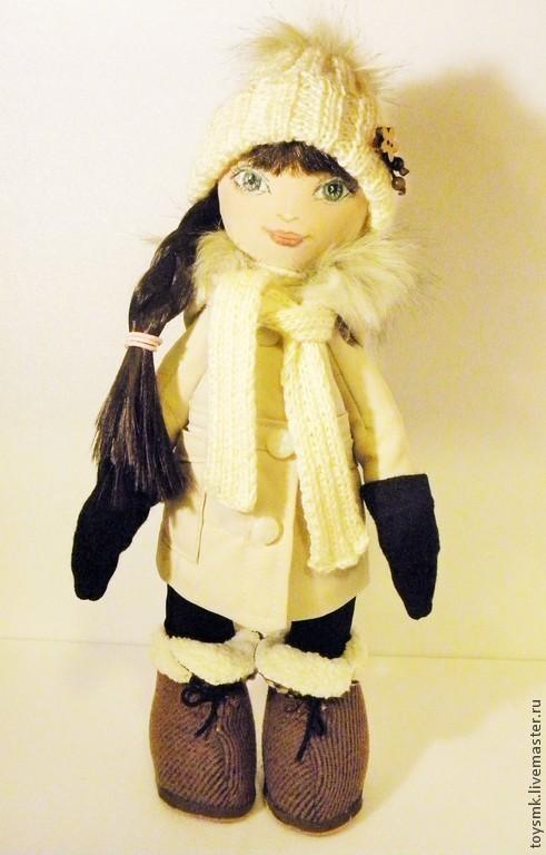 Портретные куклы ручной работы. Ярмарка Мастеров - ручная работа. Купить Кукла по фотографии для Эльвиры. Handmade. Кукла по фото, габардин