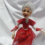 Куклы и игрушки ручной работы. Ярмарка Мастеров - ручная работа кукла  Баба Яга Гламурница. Handmade.