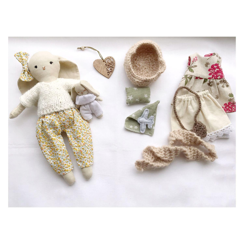 Кукла льняная для детей, Тильда Зверята, Краснодар,  Фото №1