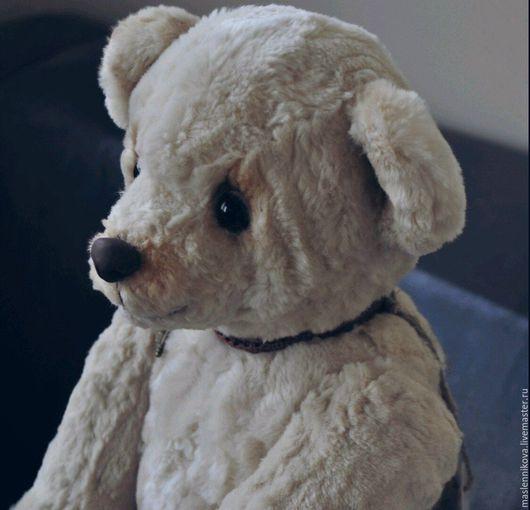 Мишки Тедди ручной работы. Ярмарка Мастеров - ручная работа. Купить Медведь Ньютон (40см). Handmade. Бежевый, коллекционные медведи