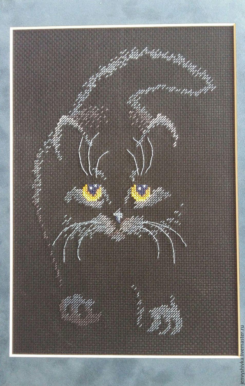 Cross stitch Детские схемы (жаккард) Pinterest Вышивка, Кошки