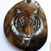 """Украшения ручной работы. Ярмарка Мастеров - ручная работа Кулон """"Тигр"""". Handmade."""