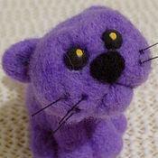 Куклы и игрушки ручной работы. Ярмарка Мастеров - ручная работа Провинившийся котенок. Handmade.