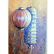Картины и панно handmade. Livemaster - original item Painting Feng Shui is the