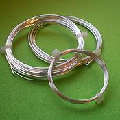 Серебряная проволока 0,8 мм серебро 925 пробы