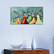 """Натюрморт ручной работы. Ярмарка Мастеров - ручная работа. Купить """"Груши"""" 65х35 см фрукты натюрморт картина маслом мастихином. Handmade."""