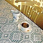 Для дома и интерьера handmade. Livemaster - original item The crocheted tablecloth Beautiful. Handmade.