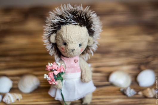Мишки Тедди ручной работы. Ярмарка Мастеров - ручная работа. Купить Ежинька Дыхание весны. Handmade. Подарок, ежик тедди
