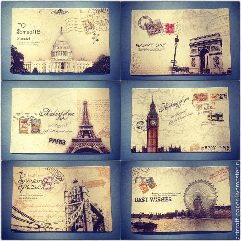 Открытки из разных стран на английскому, картинки открытки