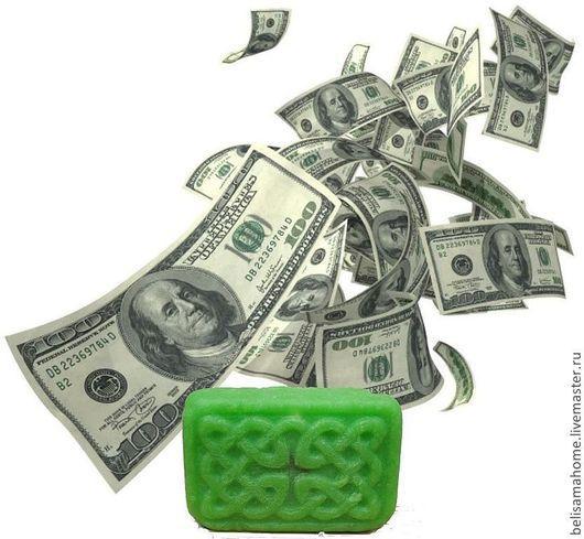 """Мыло ручной работы. Ярмарка Мастеров - ручная работа. Купить """"Ворожейное мыло. На Деньги"""" - натуральное мыло """"с нуля"""". Handmade."""
