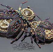 Украшения handmade. Livemaster - original item Bugs. Brooches. The choice. Handmade.