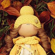 Куклы и игрушки ручной работы. Ярмарка Мастеров - ручная работа Текстильная куколка Солнышко. Handmade.