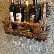 Для дома и интерьера manualidades. Livemaster - hecho a mano Estante para vino. Handmade.