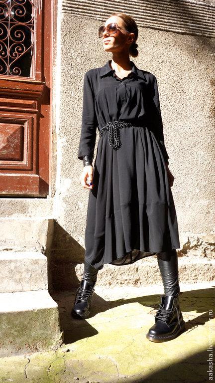 платье черное платье длинное платье платье в пол вечернее платье легкое платье длинная рубашка