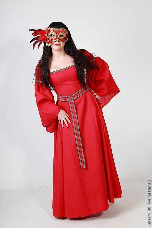 Карнавальные костюмы ручной работы. Ярмарка Мастеров - ручная работа. Купить Эльфийское платье мод.4 с поясом. Handmade.