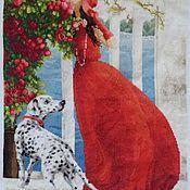 """Картины и панно ручной работы. Ярмарка Мастеров - ручная работа """"Аромат роз"""". Handmade."""