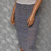 """Одежда ручной работы. Ярмарка Мастеров - ручная работа """"Грейс"""" (ажурная летняя вязаная крючком юбка). Handmade."""