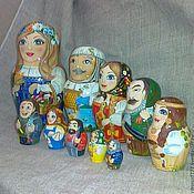 Русский стиль handmade. Livemaster - original item Matryoshka Crafts Of The Altai Republic. Handmade.