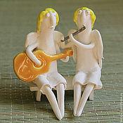 Куклы и игрушки ручной работы. Ярмарка Мастеров - ручная работа Ангелы-музыканты. Handmade.