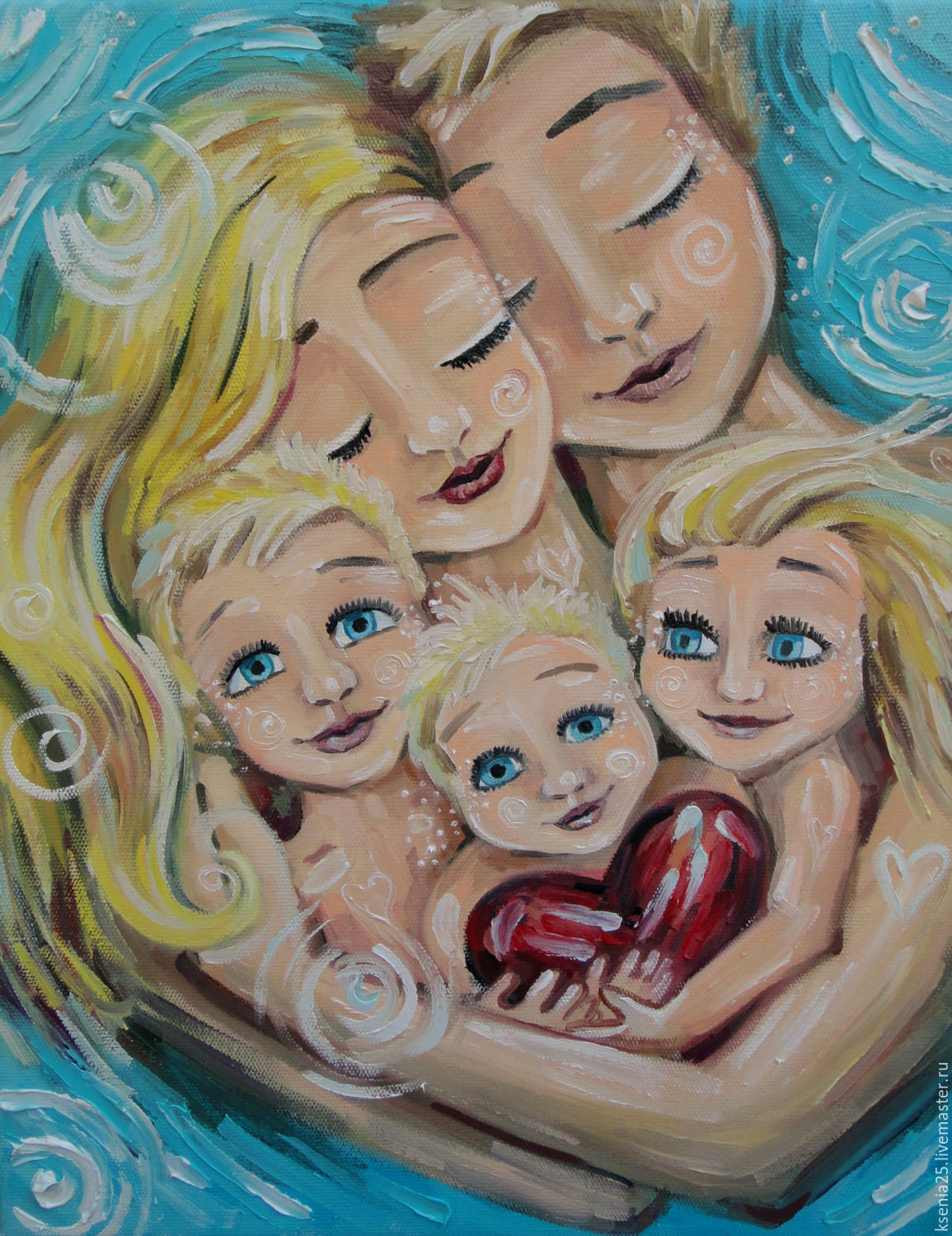Oil painting custom made motivated by Katie Berggren, Pictures, Rossosh,  Фото №1